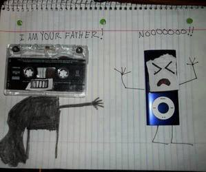 funny, ipod, and star wars image