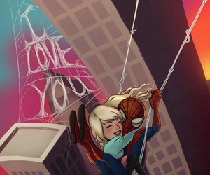 spiderman and love image