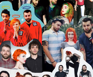 Collage, fall out boy, and hayley williams image