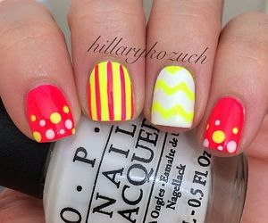 nail polish, nails, and spring nails image