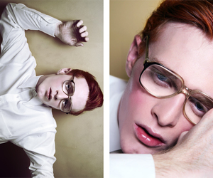 ginger, glasses, and red hair image