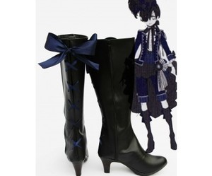 black butler, grell, and cosplay boots image