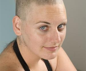 bald, shaved, and extreme image