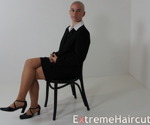 bald, extreme, and shave image
