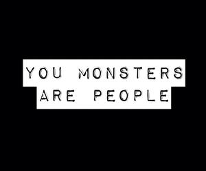 monster, quotes, and sad image