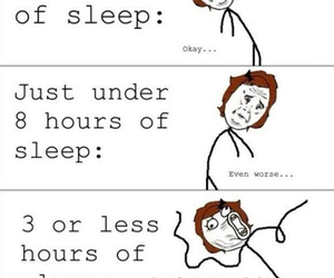 sleep, funny, and true image