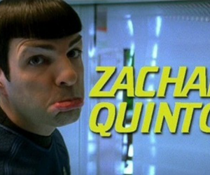 star trek, spock, and zachary quinto image
