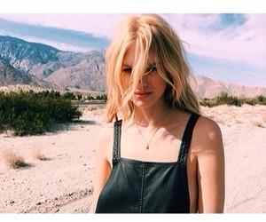 desert, fashion, and overalls image