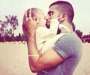 baby, father and son, and cute image