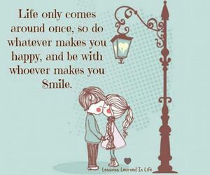 quote, Relationship, and smile image