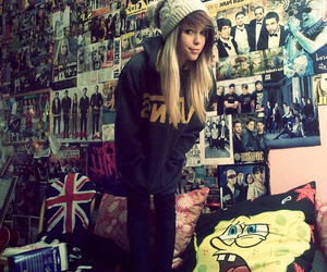 girl, poster, and vans image