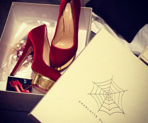 charlotte olympia, high heels, and pumps image