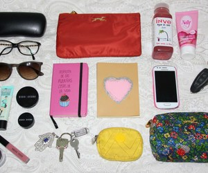 fashion blogger, whats in my bag, and inside my bag image