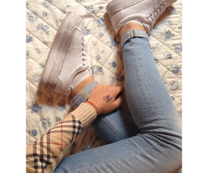 hollister, jeans, and jeffrey campbell image