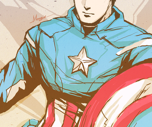 Avengers, fanart, and captain america image
