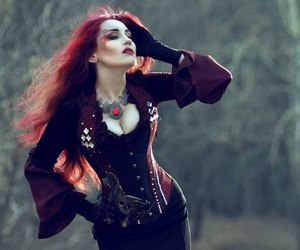 awesome, corset, and dark image