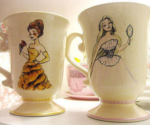 cup, princess, and disney image