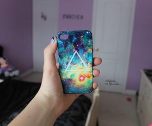 galaxy, iphone, and beautiful image