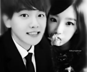 couple, exo, and baekhyun image