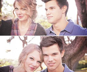 Taylor Swift and Taylor Lautner image