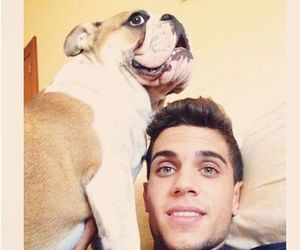 dog, fcb, and laugh image