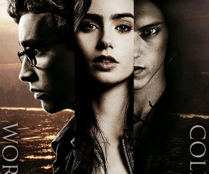 the mortal instruments, clary fray, and jace image
