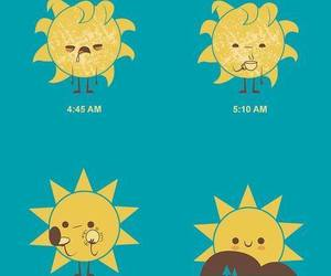 sun, morning, and sol image