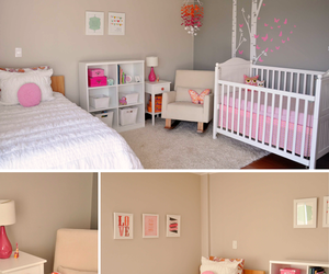 interiors, pink, and white image