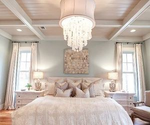 bedroom, decor, and classy image