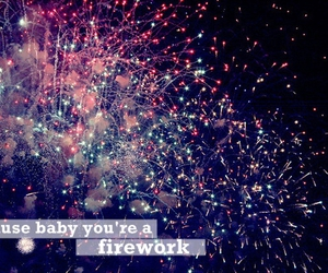 firework, katy perry, and quote image