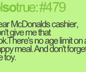 funny, McDonalds, and lol image