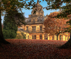 architecture, autumn, and building image