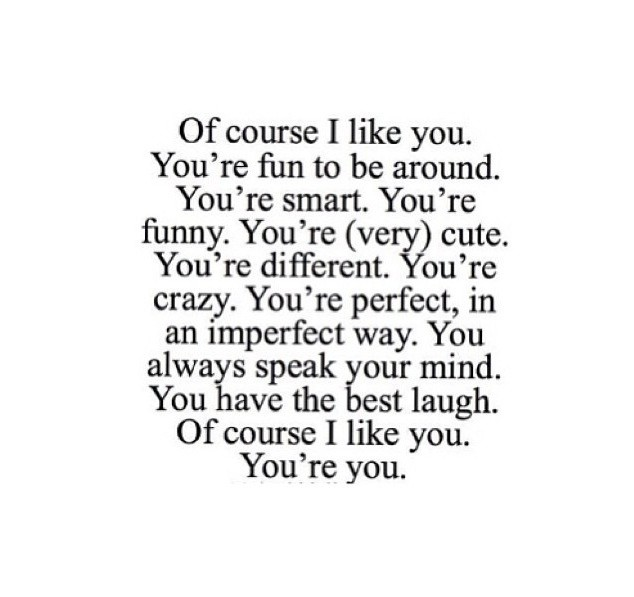 You're you :) discovered by dalijamo on We Heart It