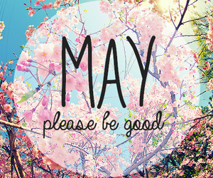 may, good, and flowers image