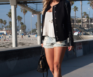 jeans, street fashion, and street style image