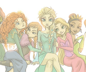 disney, princess, and frozen image