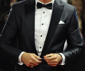 suit, men, and luxury image