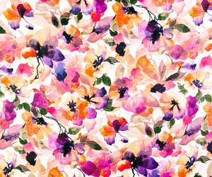 color, colorfull, and flowers image