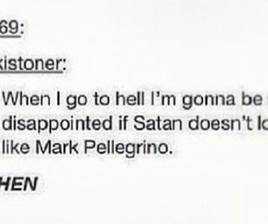 hell, satan, and spn image