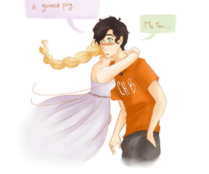 percabeth and percy jackson image