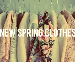 spring, clothes, and fashion image