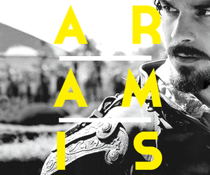 santiago cabrera, aramis, and the musketeers image