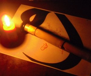 candle, islamic, and و image