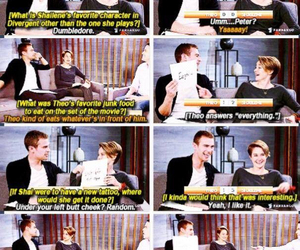 interview, Shailene Woodley, and sheo image