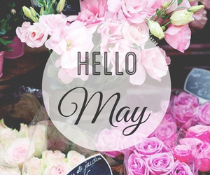 may, flowers, and spring image