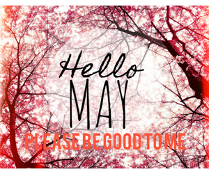 hello, may, and words image