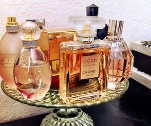 perfume, chanel, and decor image