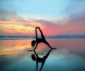amazing, beach, and fitness image