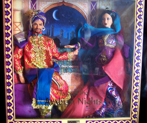 arabian nights, ken, and barbie image