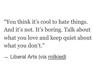 boring, hate, and talk image